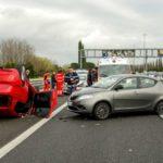 zranění po autonehodě